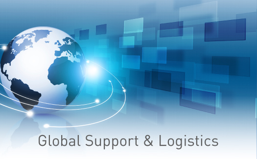 Global Support & Logistics offering 24/7 support