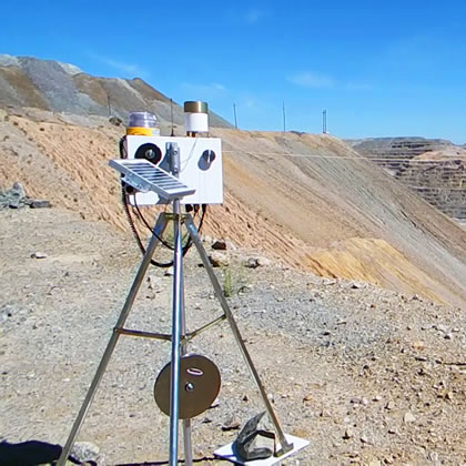 SlideMinder slope monitoring system will be on display at Reutech Mining's booth at Electra Mining Africa.