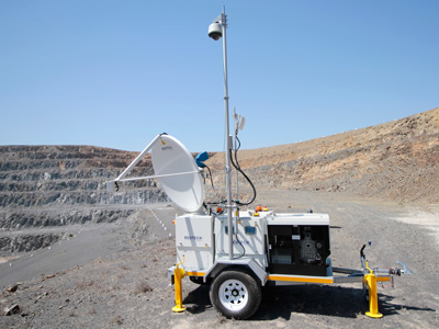 Slope Vision mounted on the Movement and Surveying Radar