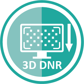 3D Noise Filtering Icon