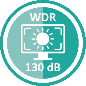 130dB Wide Dynamic Range (WDR) Icon