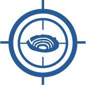 Critical and strategic monitoring icon