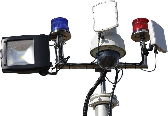 Perimeter Intrusion Monitoring System Our Range illustration